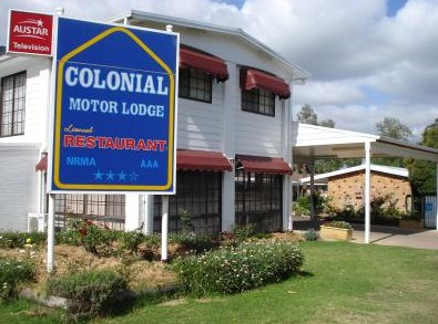 Colonial Motor Lodge - Hervey Bay Accommodation