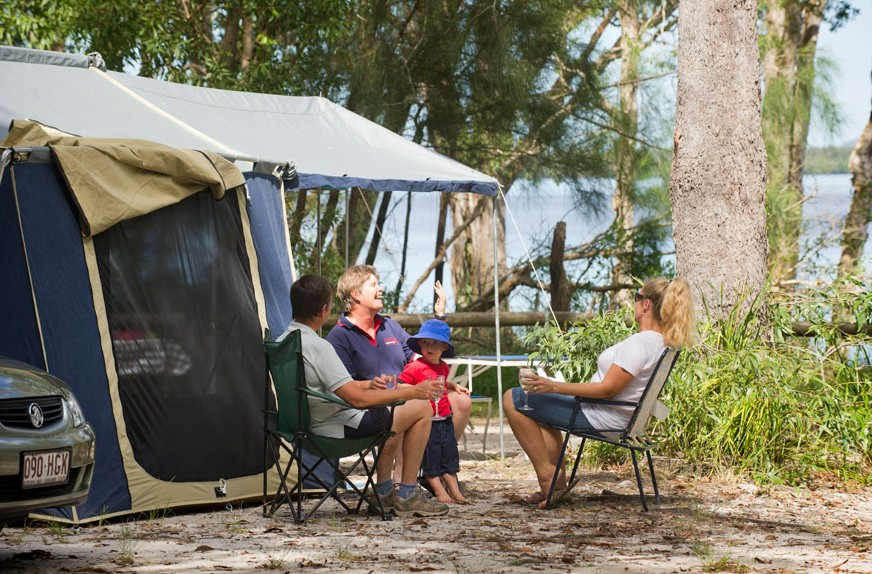 Boreen Point Campground - Hervey Bay Accommodation