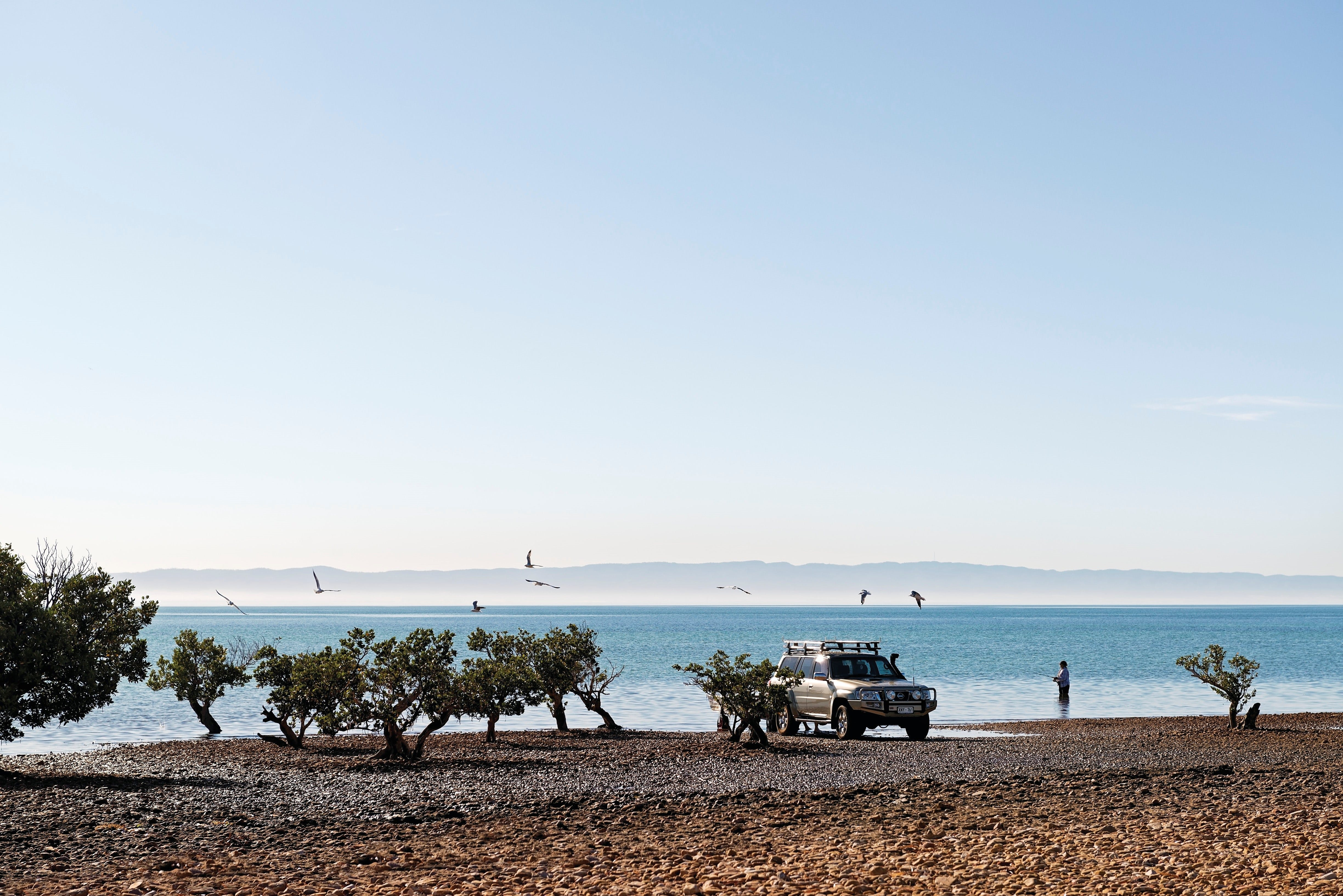 Camping at Point Lowly  Fitzgerald Bay - Hervey Bay Accommodation