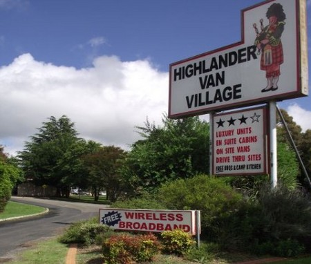 Highlander Van Village - Hervey Bay Accommodation