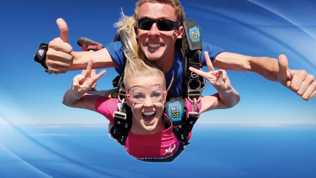 Skydive Oz Canberra - Hervey Bay Accommodation