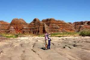 Bungle Bungle Flight Domes  Cathedral Gorge Guided Walk from Kununurra - Hervey Bay Accommodation