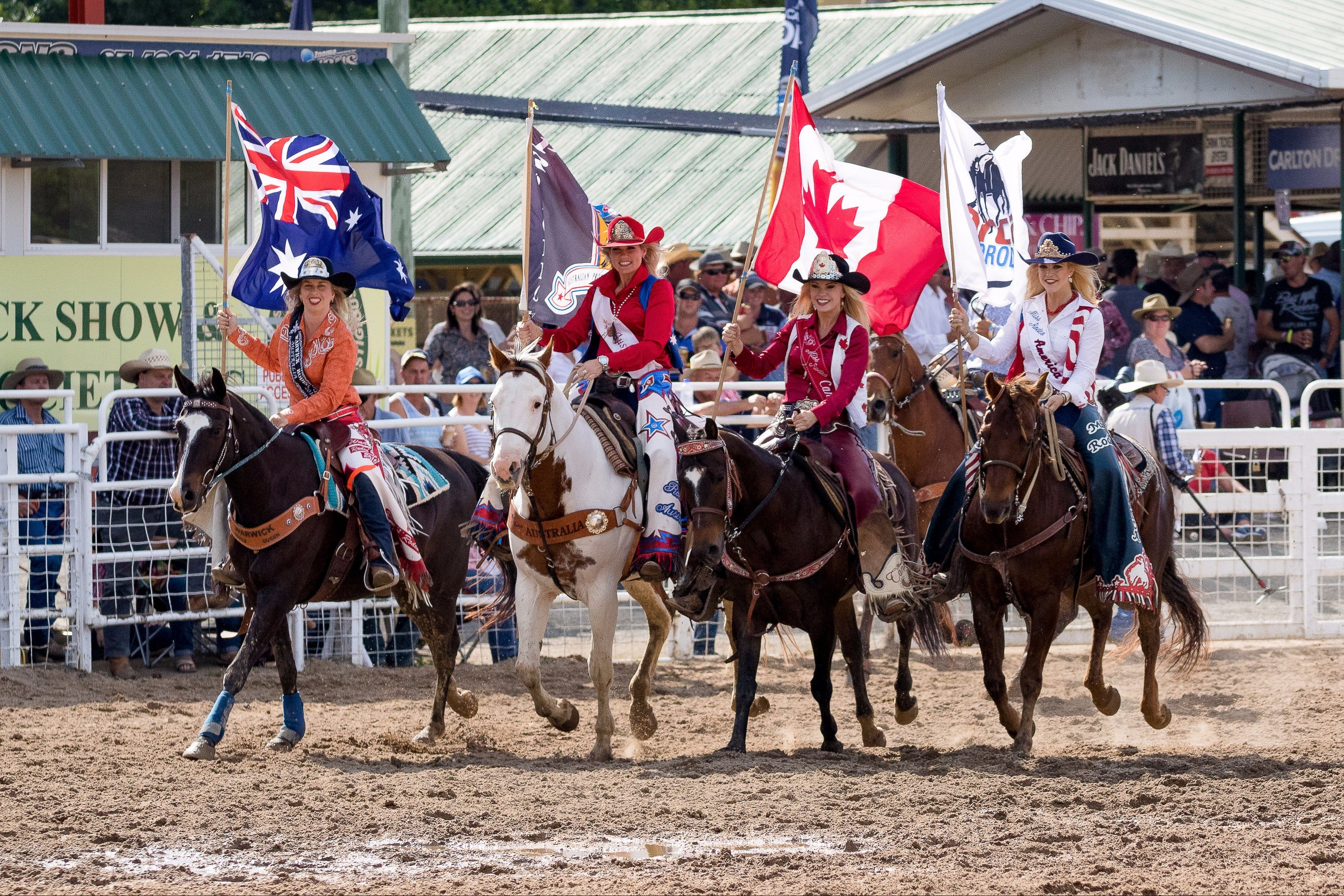 Warwick Rodeo National APRA National Finals and Warwick Gold Cup Campdraft - Hervey Bay Accommodation
